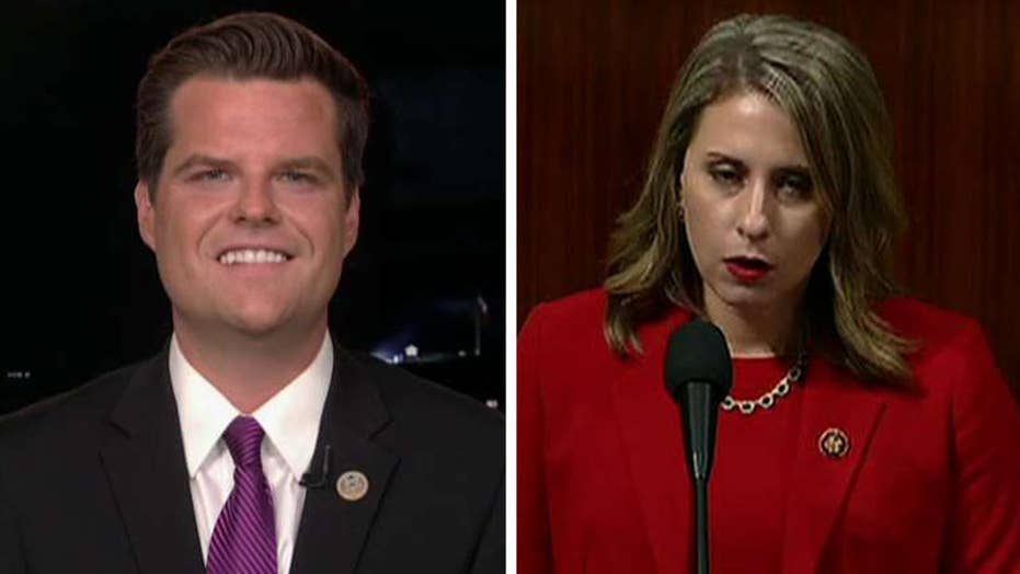 Gaetz: Katie Hill's Democratic colleagues failed her