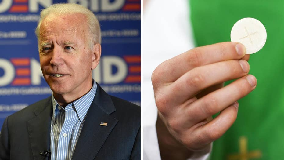 Why Joe Biden being denied Communion is a big deal for people of faith