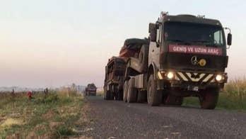 Russia, Turkey begin joint ground patrols in Northeast Syria