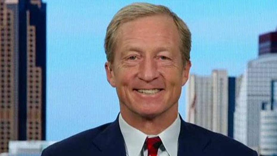 Democratic presidential candidate Tom Steyer on his plan to improve the U.S. economy