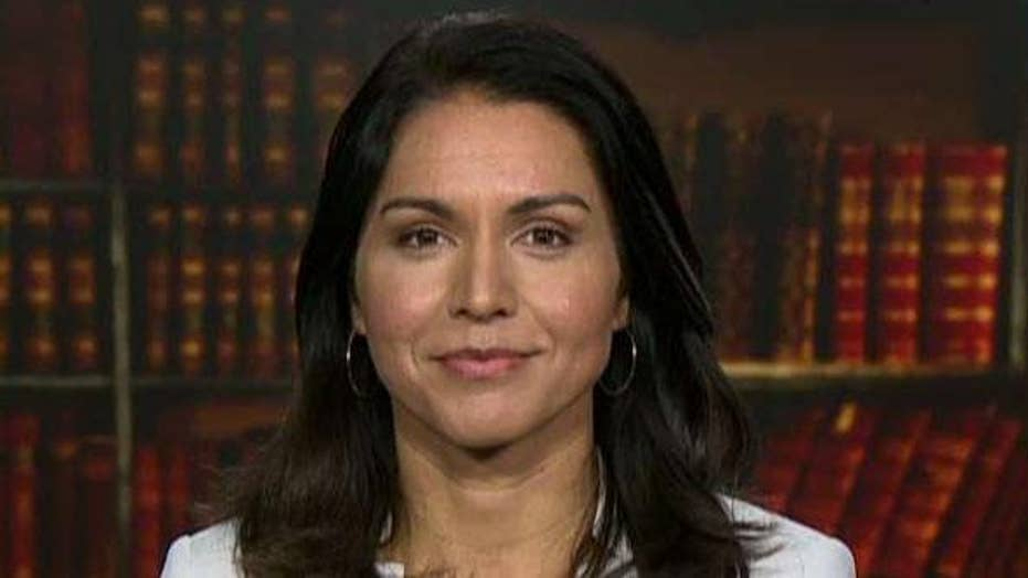 Rep. Tulsi Gabbard on US strategy for Syria, whether she would consider a position in the Trump administration
