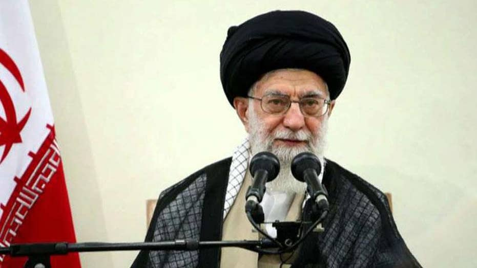 Iran's supreme leader addresses tensions with US on eve of 40th anniversary of Iranian hostage crisis