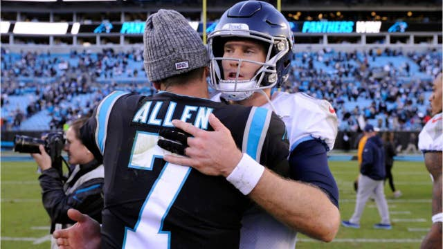 Three NFL quarterbacks complete a league first with wins over their opponents