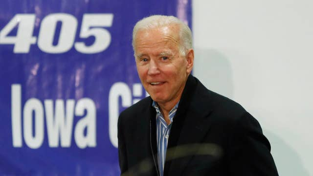 Biden campaign says Iowa isn't a must-win for the Democratic presidential candidate