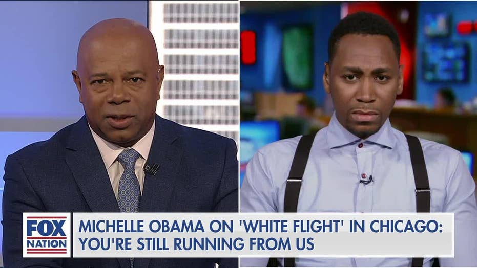 Black conservative dismantles Michelle Obama's 'white flight' theory