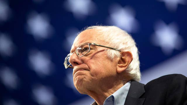 'Lock him up' chants heard at Bernie Sanders campaign rally in Minneapolis