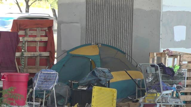 Texas cleans up Austin homeless camps