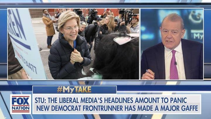 Varney: Media 'panic' Elizabeth Warren's 'major gaffe that cannot be taken back'