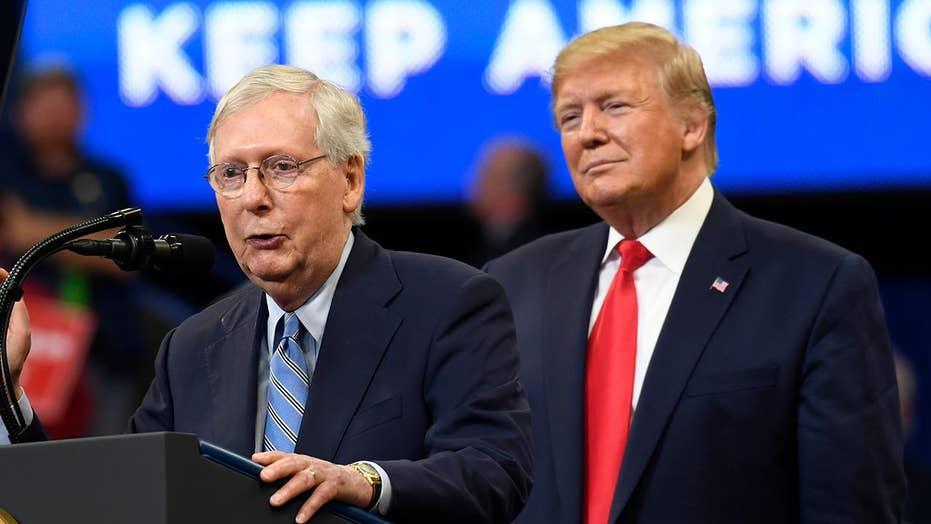 Mitch McConnell praises Trump's court system reform