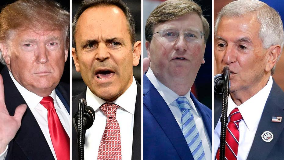 Will Trump influence governor's races in Mississippi, Kentucky and Louisiana?