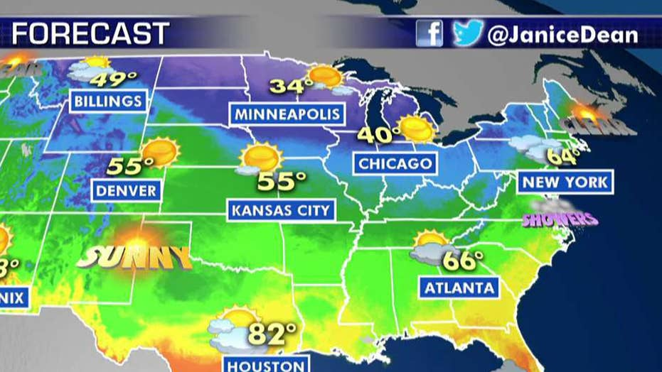 National forecast for Tuesday, November 5