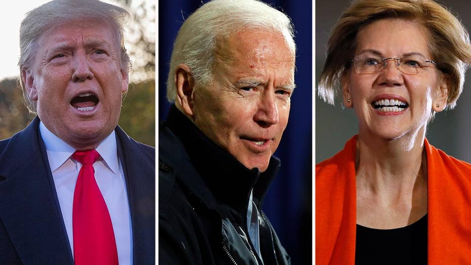 New national poll shows top Democratic candidates holding edge over President Trump