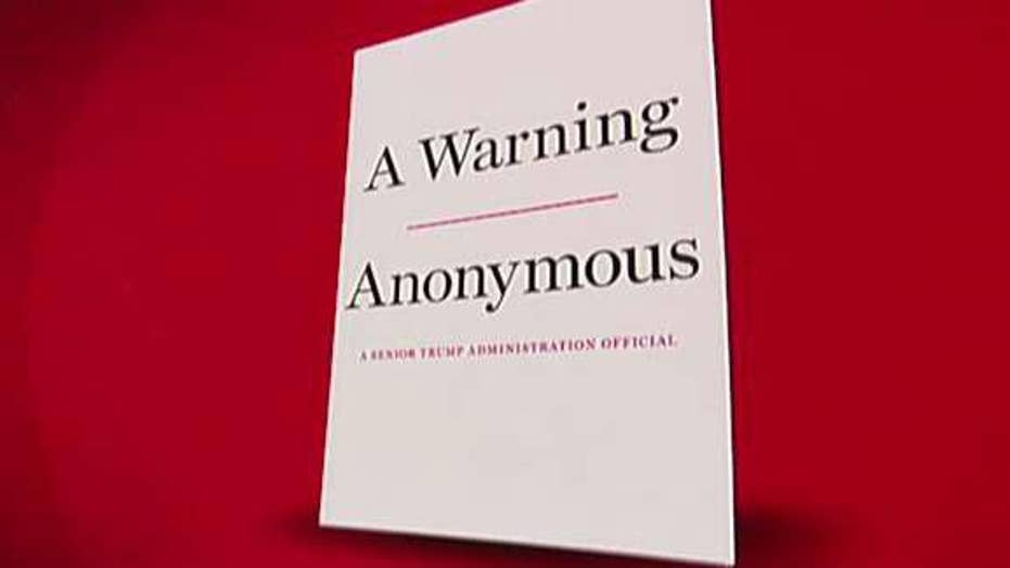 DOJ warns 'anonymous' anti-Trump staffer may have violated non-disclosure agreements