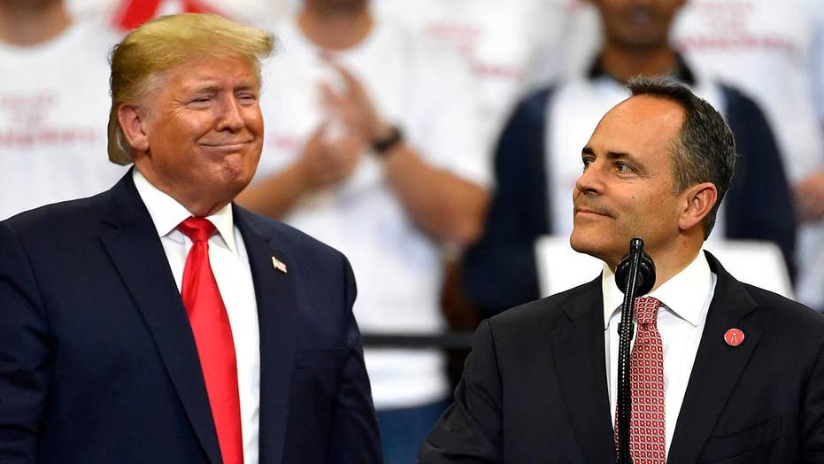 Republican Matt Bevin nationalized Kentucky's gubernatorial race
