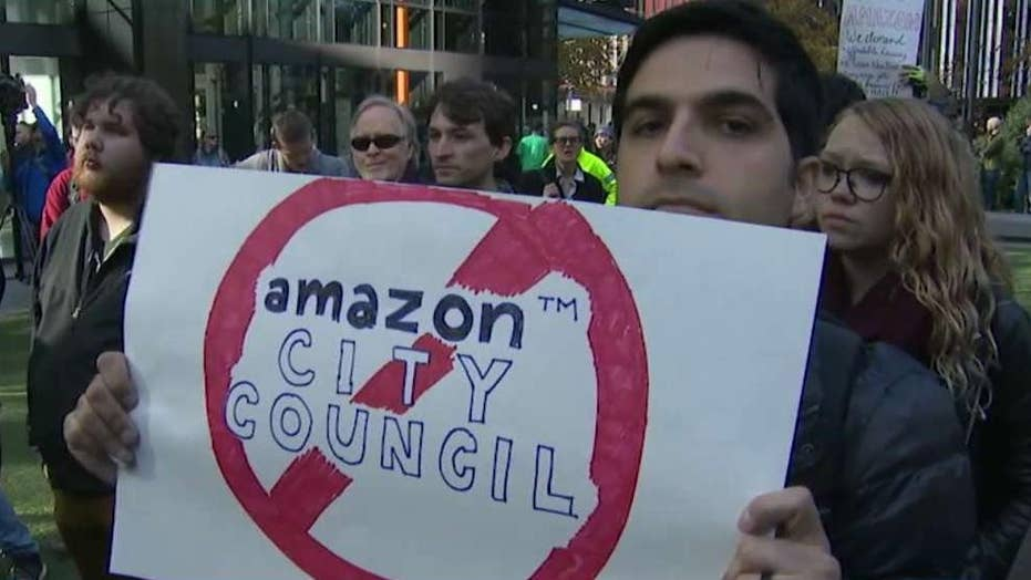 Amazon takes on far-left candidates in Seattle