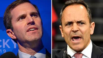 Kentucky Republican Gov. Matt Bevin concedes to Dem Andy Beshear in reelection bid