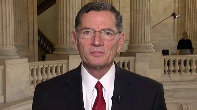 Sen. Barrasso says he supports making sure the whistleblower is treated fairly