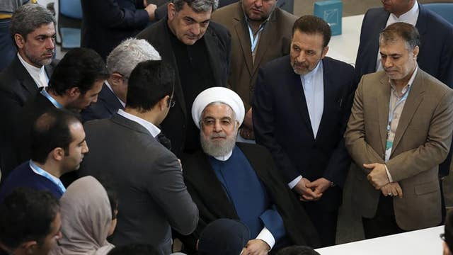 Iran injects uranium gas into centrifuges at underground nuclear facility in violation of 2015 nuke deal