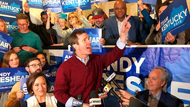Andy Beshear calls for smooth transition as Gov. Mark Bevin refuses to concede Kentucky's governor race