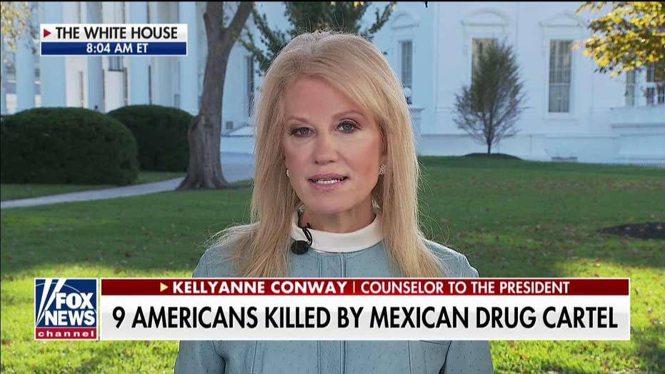 Kellyanne Conway: Trump offered to help stop 'ruthless' cartels, Mexico's president refused