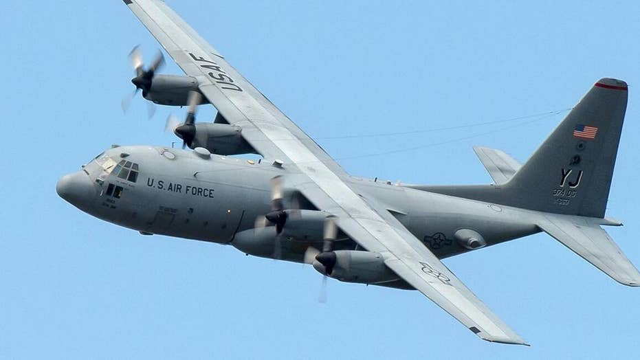 US airman missing after falling from aircraft into Gulf of Mexico