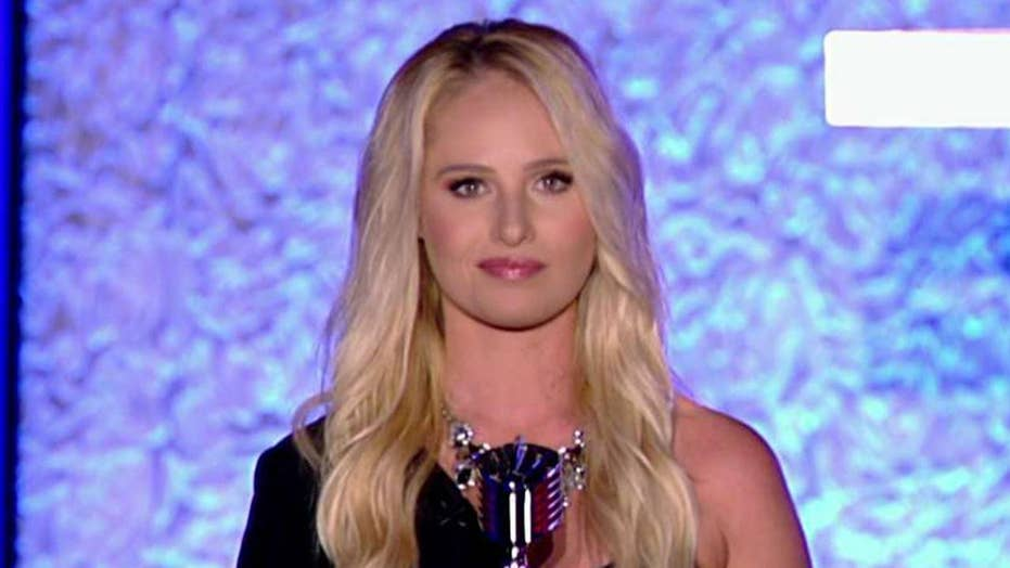 Tomi Lahren delivers speech at the Fox Nation Patriot Awards