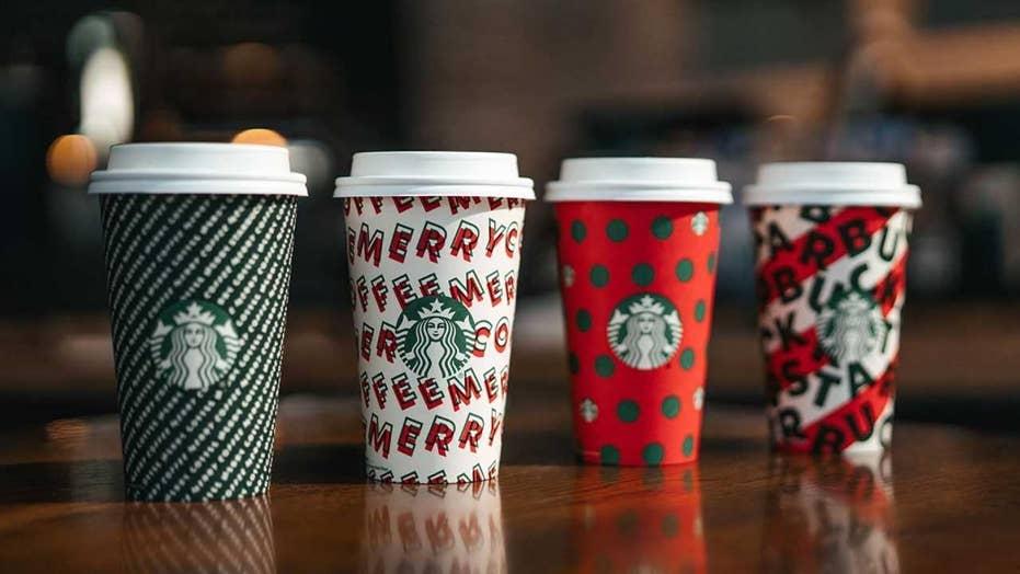 Starbucks Merry Coffee Cups Look A Lot Like Christmas
