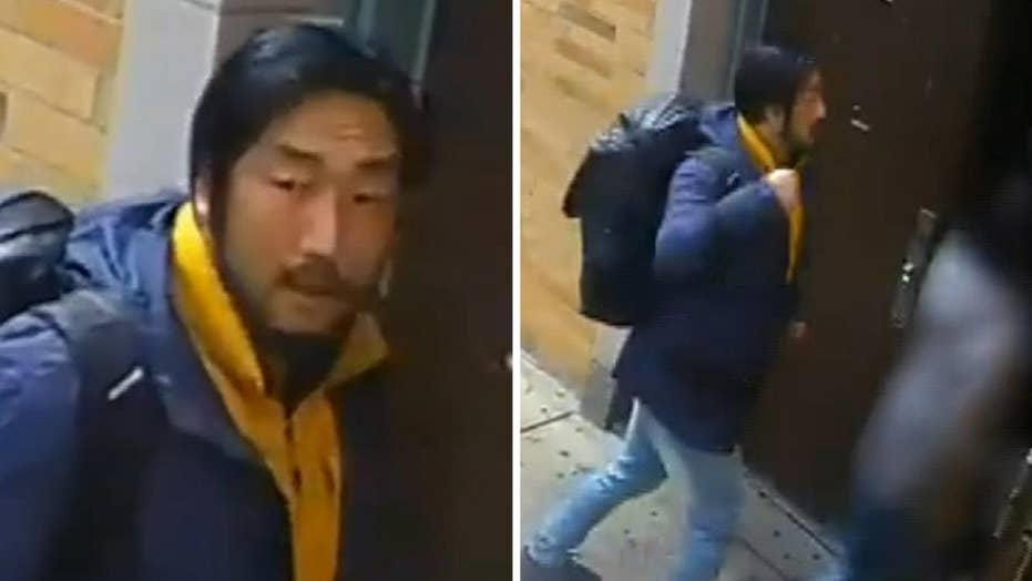 NYPD searching for suspect after a woman was assaulted outside a church in Queens