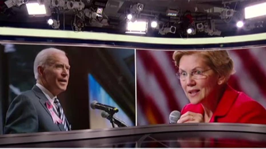 Warren in big trouble? Biden and Buttigieg are doing damage