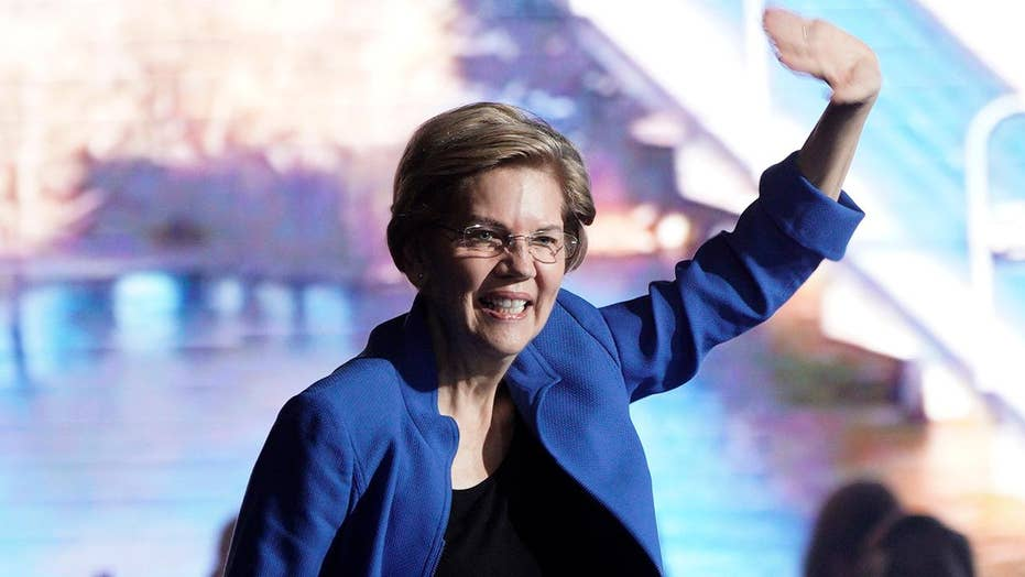 Moderate Democrats express increasing concern that Elizabeth Warren is too liberal to beat President Trump