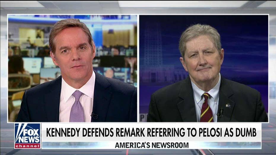 Sen, John Kennedy says Democrats' impeachment probe is dumb and dangerous