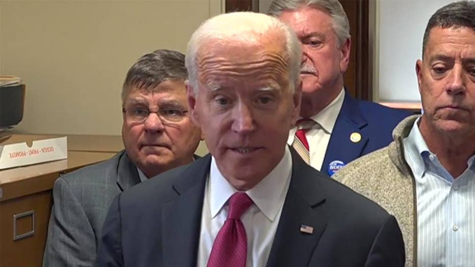 Biden on the ballot in New Hampshire, welcomes Bloomberg