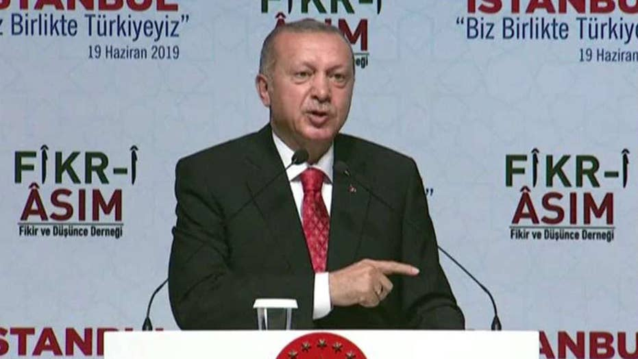 Turkey's Erdogan arrives in DC for high-stakes meeting with Trump