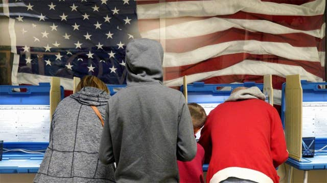 56 percent of adults say they are stressed over 2020 election