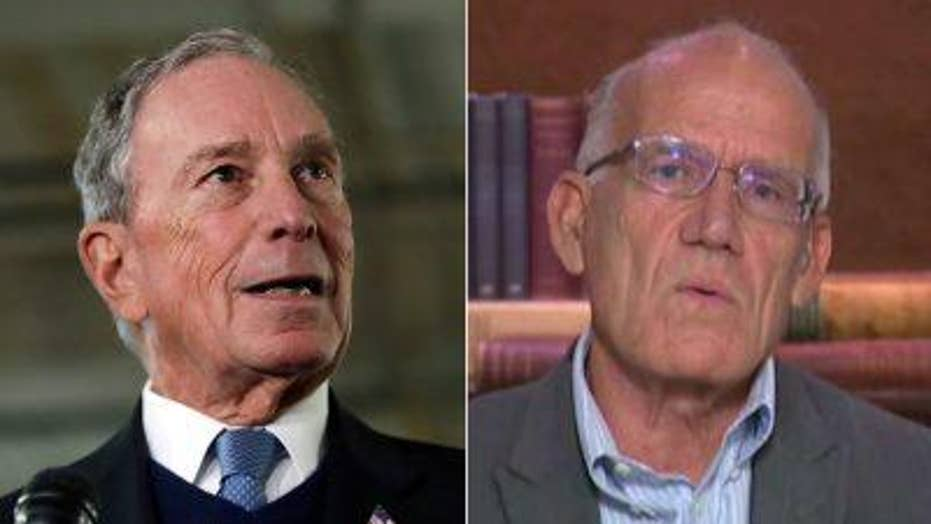 Victor Davis Hanson pans Michael Bloomberg's 2020 consideration