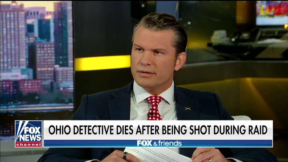 NYC Blue Lives Matter founder reacts after OH detective shot during raid dies