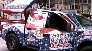 Wounded warrior receives special gift from Ford