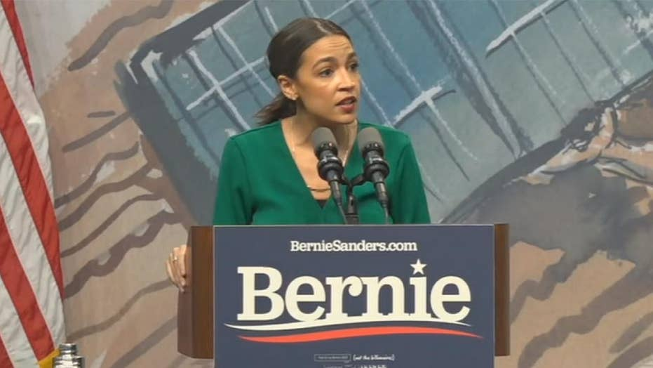 Watch: AOC appears to accuse Bloomberg of trying to 'purchase our political system'