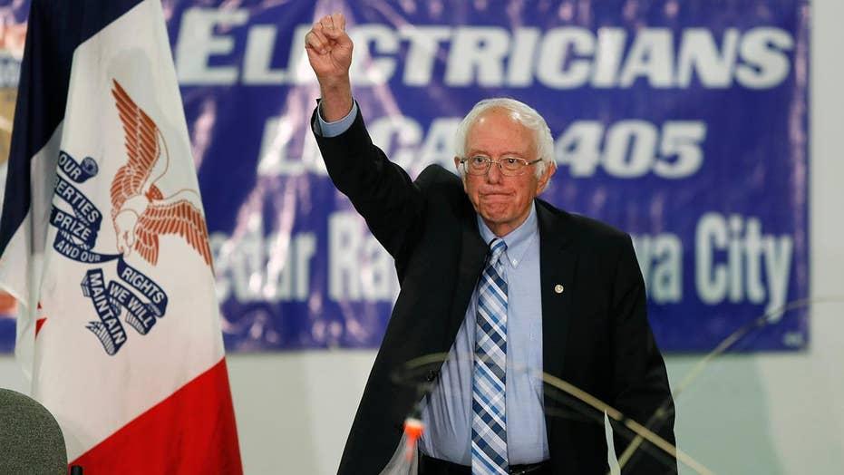 Watch: Bernie Sanders blasts former NYC mayor Michael Bloomberg at a rally