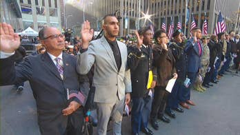 12 veterans become naturalized US citizens in ceremony on 'Fox & Friends'