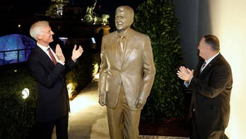 Pompeo unveils Reagan statue as Germany marks 30 years since fall of Berlin Wall
