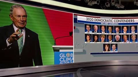 2020 Democrats go after Michael Bloomberg