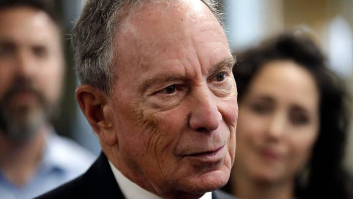 Democratic presidential candidates rip Michael Bloomberg's potential White House bid