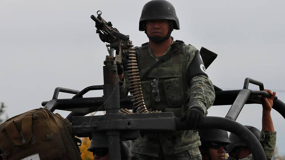 With a sharp murder rate increase in Mexico, is there more need for border security?