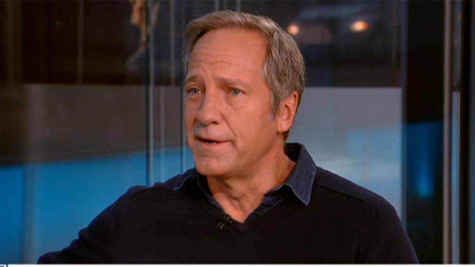 Mike Rowe and a great American who's 'more machine than man'