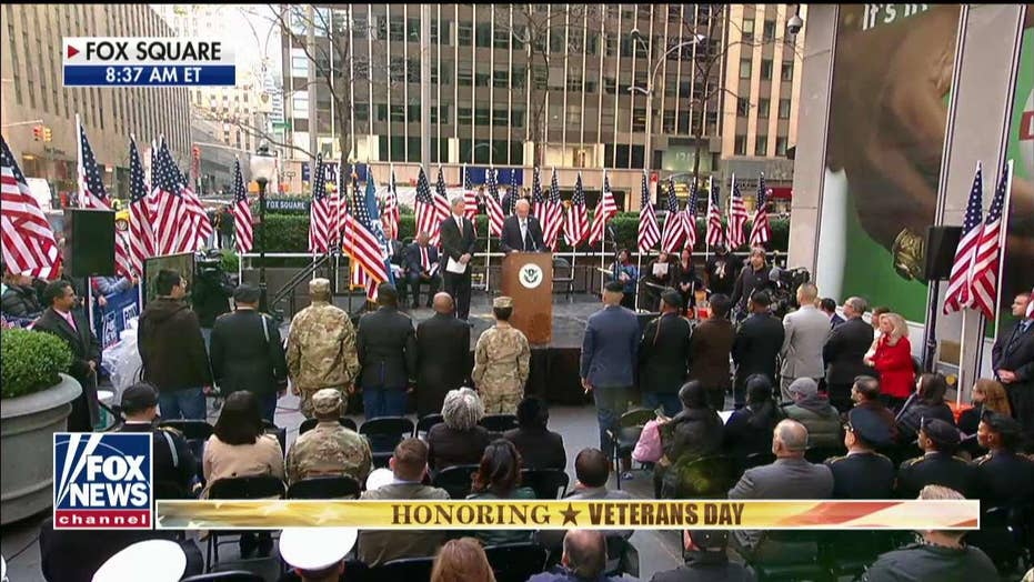 Veterans naturalized as American citizens in live ceremony