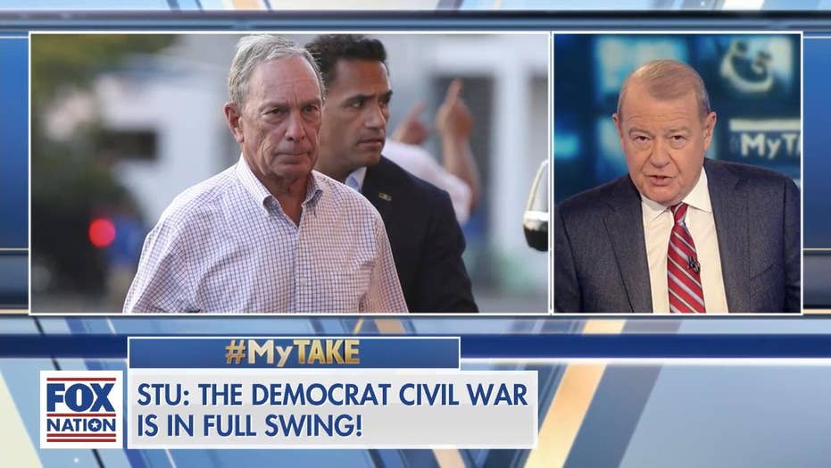 Stu Varney: Bloomberg 'widened chasm between socialists who run the party, and everyone else'