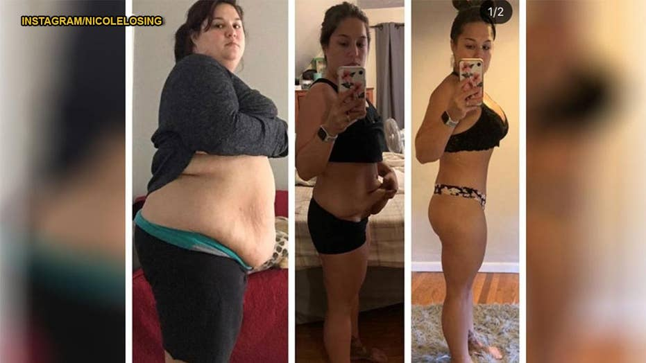 Personal trainer body shamed after losing 120 pounds