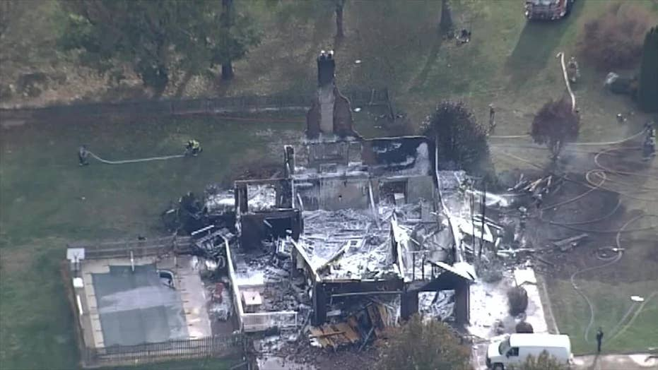 Crews respond to massive house explosion in West Virginia