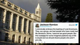 UC Berkeley instructor calls rural Americans 'bad people' who deserve 'uncomfortable' lives